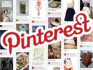 Notice the Red Pinterest logo on right sidebar?